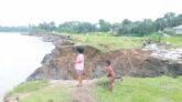 দোয়ারাবাজারে অব্যাহত ভাঙনে হুমকির সম্মুখিন শতাধিক পরিবার