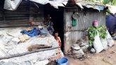 জাফলংয়ে হতদরিদ্র মজিদার ভাগ্যে জুটেনি সরকারি ঘর, এগিয়ে আসলেন যুবসমাজ